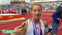 Wow! Une athlète AVEUGLE remporte la médaille de bronze en saut à la perche