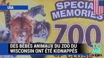 Des voleurs s'introduisent dans le zoo du Wisconsin, et volent des bébés animaux