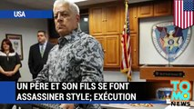 Un père et son fils se font assassiner, style exécution.