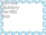 MOONS SLEEPWARES V20 Twin Size 100 Pure Long Grade Mulberry Silk Comforter Silk Filled