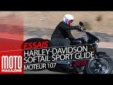 Harley Davidson Softail Sport Glide 2018 - Essai par Moto Magazine