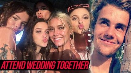 Justin Bieber & Selena Gomez Attend Dad's Wedding Together In Jamaica | Jeremy Bieber's Wedding