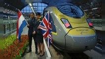 Eurostar inaugura tratta Londra-Amsterdam in 3 ore e 40 minuti