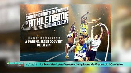3 questions en plus : Laura Valette championne !