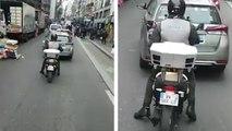 La nouvelle moto de la Mairie de Paris qui met des PV de stationnement à la chaîne