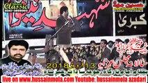 Zakir Ghulam Abbas Jappa  13th FEB 2018 RAJOA SADAT CHINIOT BANI MAJLIS ZAKIR SYED ALI NAQI SHAH,NAJAF ALI SHAH Youtube