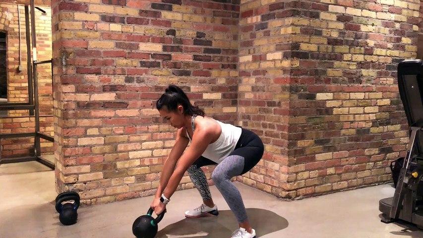 Kettlebell Workout Dead Stop Swings