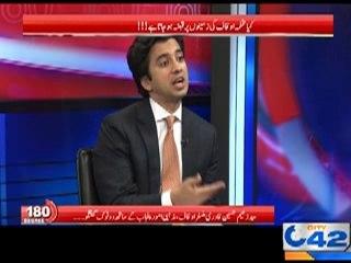 Provincial Minister Auqaf & Religious Affairs Syed Zaeem Hussain Qadri 180 Degree Program