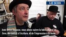 Foire du Livre de Bruxelles : La fabrication d'un livre - Le Contrat