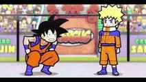 Sangoku VS Naruto