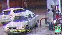 VIDEO DÉLIT DE FUITE: Une désaxée écrase deux hommes suite à une blague à deux balles