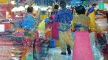 Suivez-moi dans les mystérieuses nuits coréennes à travers mes peintures