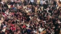 Leaguei Kaarkunon Ke Shadeed Naary Bazi, Nawaz Shareef Ijlaas Ki Sadarat Chore Kar Punjab House Ki Chhat Par Aa Gaye