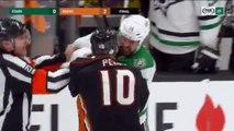 NHL Fight: Jamie Benn vs Corey Perry