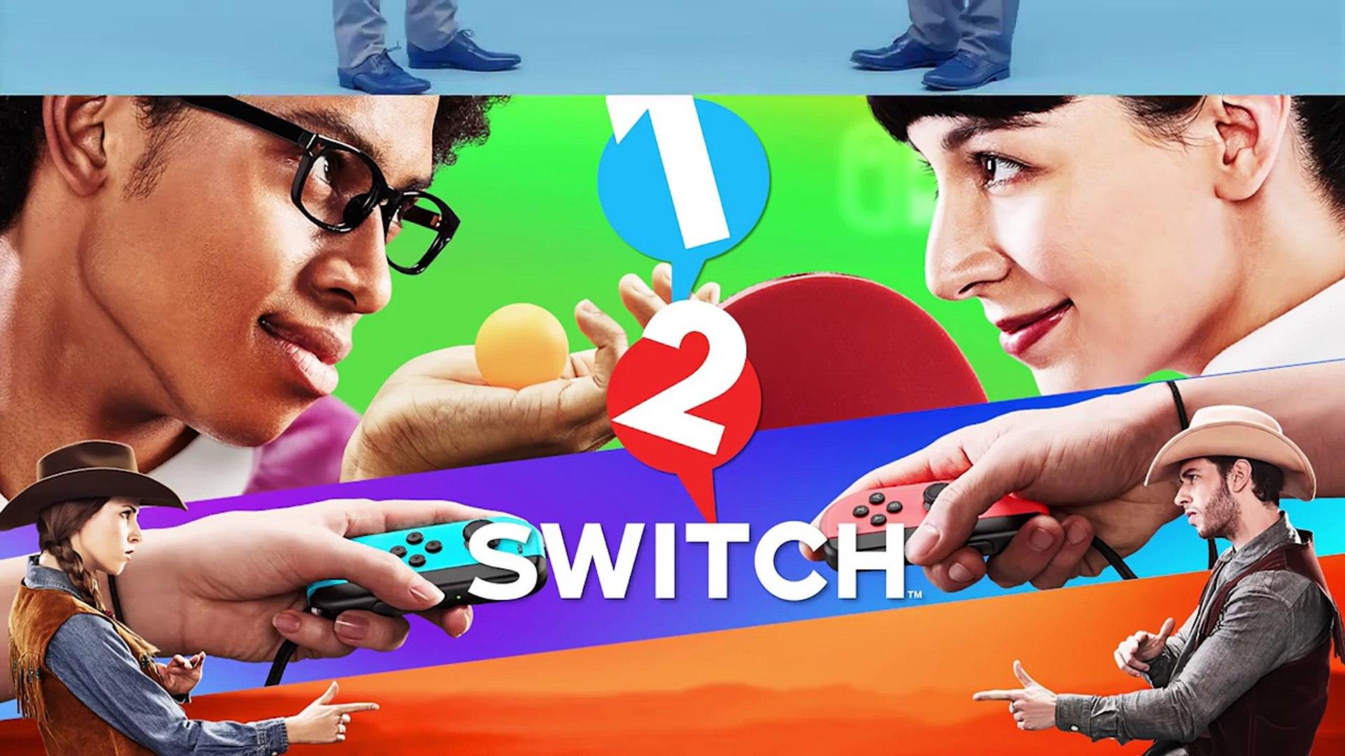 1-2-Switch - Bande-annonce vue d'ensemble (Nintendo Switch)