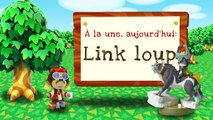 Animal Crossing: New Leaf - Welcome amiibo - Link loup (Nintendo 3DS)