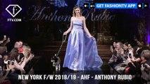 New York Fashion Week Fall/Winter 18 19 - Art Hearts Fashion - Anthony Rubio | FashionTV | FTV