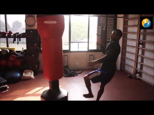 Training session 2 (Taekwondo) with coach Eljay