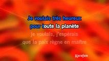 Karaoké Non, non, rien n'a changé - Les Poppys *