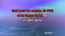 Karaoké Les bobos - Renaud *