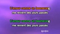 Karaoké Comme un boomerang - Etienne Daho *