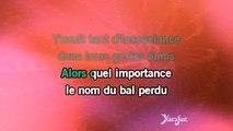 Karaoké Le petit bal perdu - Lisa Angell *