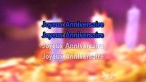Karaoké Joyeux anniversaire - Happy Birthday Songs *