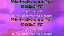 Karaoké D'aventures en aventures (Live) - Serge Lama *