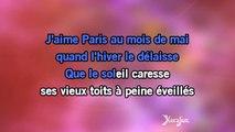 Karaoké J'aime Paris au mois de mai - Charles Aznavour *