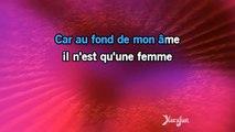 Karaoké L'amour est un bouquet de violettes - Roberto Alagna *