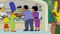 The Simpsons - Homer and Marge at the age of 15