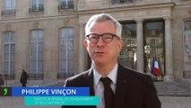Philippe Vinçon accompagne 160 élèves de l'enseignement agricole à l'Elysée