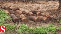 Makedonya�da Birinci Dünya Savaşı�ndan kalma top mermileri bulundu