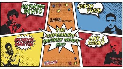 Superhero Fantasy Draft 2017 at New York Comic Con