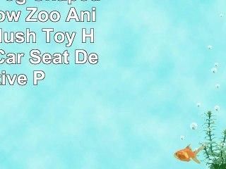 Mkono 3D Dog Shaped Throw Pillow Zoo Animal Soft Plush Toy Home Sofa Car Seat Decorative