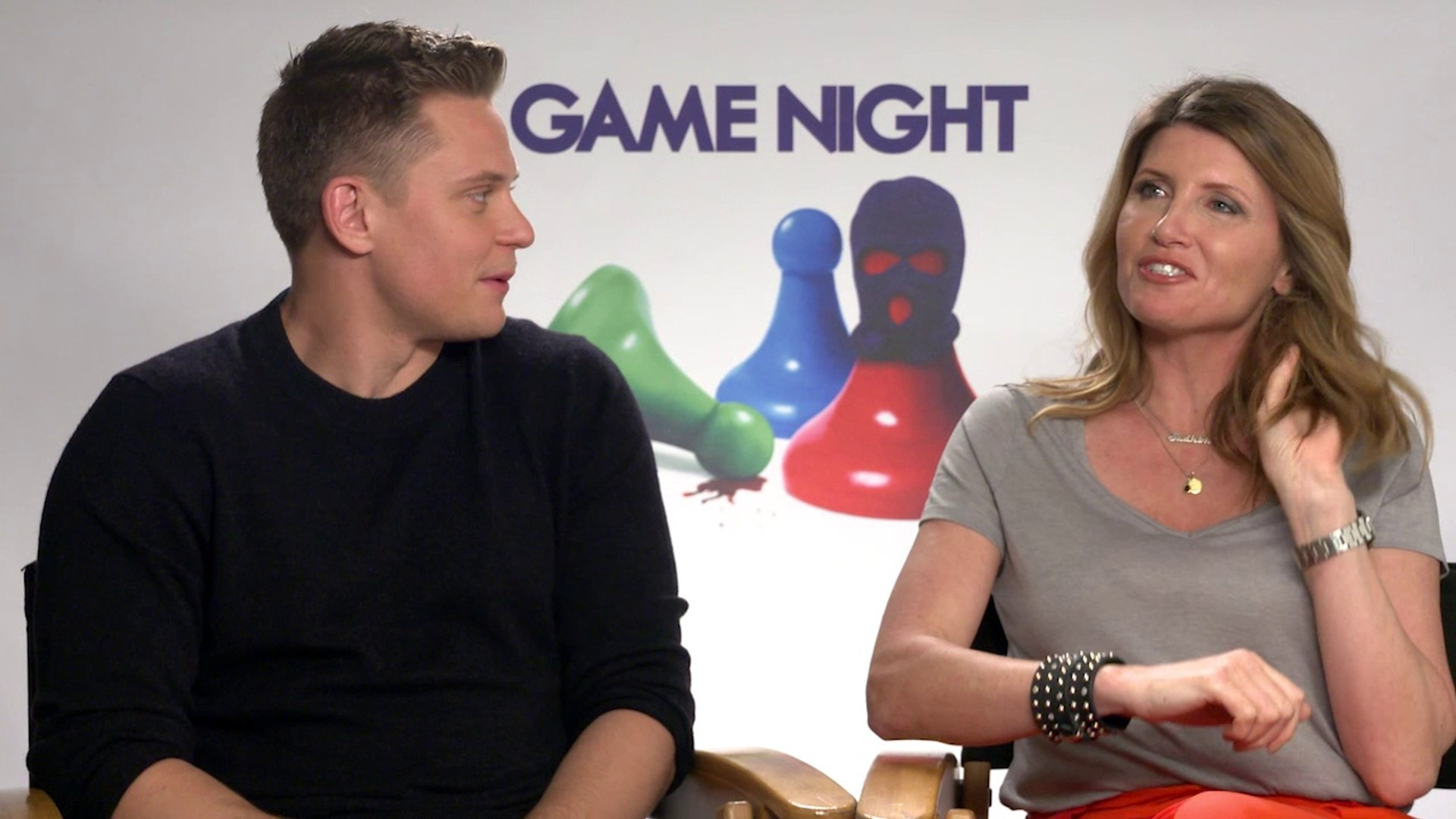 Game Night - Sharon Horgan and Billy Magnussen Interview