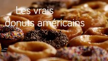 Les vrais donuts américains