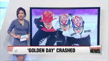 Unfortunate crashes, falls left South Korea without medal in final short track events