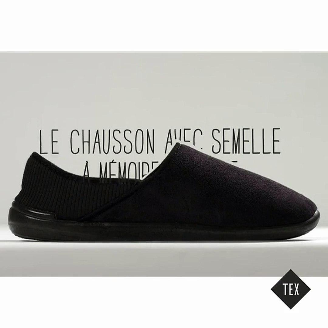 footwear look good shoes sale outlet boutique Les chaussons à mémoire de forme TEX (en exclusivité chez Carrefour)