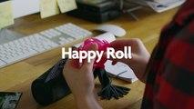 Nouveau ! Happy Roll, le dévidoir à ruban adhésif compact Carrefour, designed by Carrefour