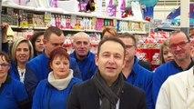Carrefour Calais vous souhaite une bonne année 2015 !