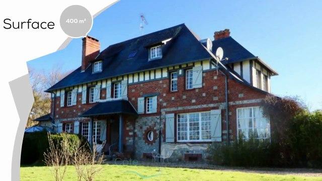 A vendre - Maison/villa - Veules les roses (76980) - 14 pièces - 400m²