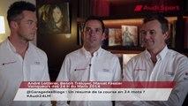 Pilotes vainqueurs des 24H du Mans 2014 répondent à @GarageDesBlogs