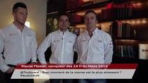 Marcel Fässler, vainqueur des 24H du Mans 2014, répond à @Tuxboard