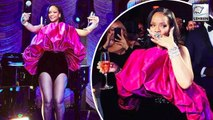 Rihanna Parties In An Eye-Catching Outfit For Her 30th Birthday