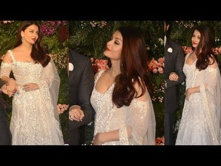 Aishwarya Rai Bachchan Stunning Looks In Manish Malhotra Creation