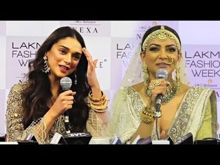 Saif Ali Khan, Sushmita Sen At Lakme Fashion Week 2018