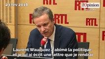 Enregistrements : le message de Nicolas Dupont-Aignan à Laurent Wauquiez