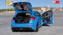 VÍDEO: conducimos el Ford BuzzCar, un Focus RS muy especial