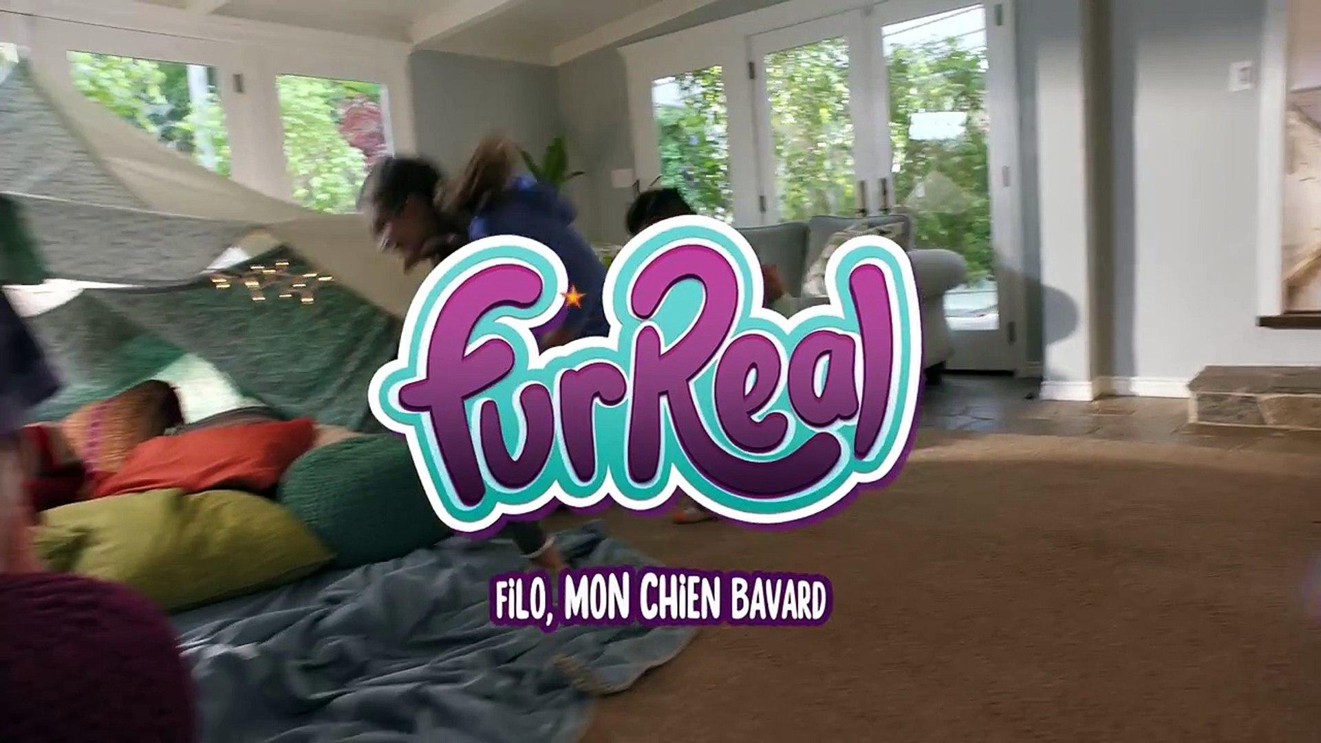 Filo Mon Chien Bavard Peluche Interactive Furreal Friends